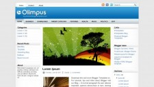 Olimpus Blogger Template