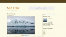 San Fran Blogger Template