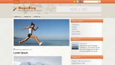 MagicBlog Blogger Template
