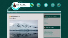 Mini Game Blogger Template