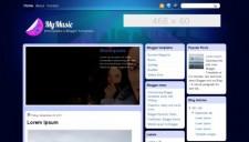 MyMusic Blogger Template
