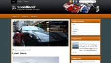 SpeedRacer Blogger Template