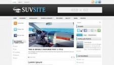 SuvSite Blogger Template