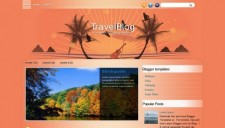 TravelBlog Blogger Template