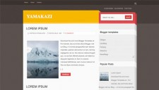 Yamakazi Blogger Template