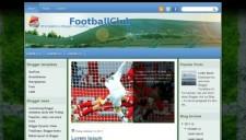 FootballClub Blogger Template
