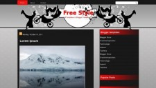 Free Style Blogger Template