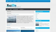 MagzEvo Blogger Template