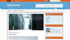 StarPoint Blogger Template
