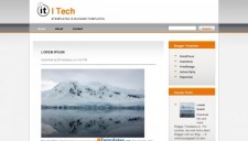 I Tech Blogger Template