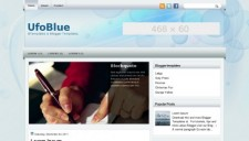 UfoBlue Blogger Template