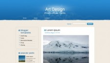Art Design Blogger Template