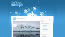 CoolWinter Blogger Template