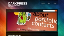 Darkpress Blogger Template