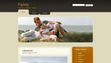 Family Blogger Template