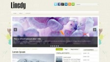 Linedy Blogger Template