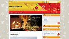 Merry Christmas Blogger Template