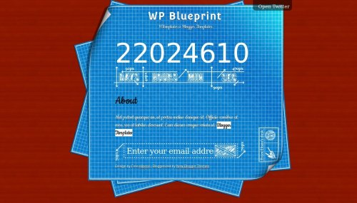 Wp blueprint blogger template btemplates live demo malvernweather Choice Image