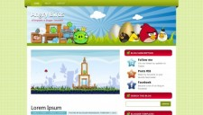 Angry Birds Blogger Template