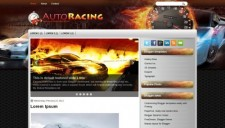 AutoRacing Blogger Template