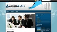 BusinessSolution Blogger Template