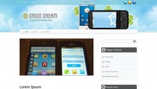 Droid Dream Blogger Template