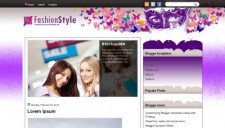 FashionStyle Blogger Template