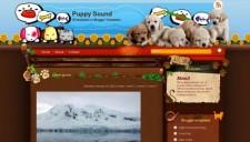 Puppy Sound Blogger Template