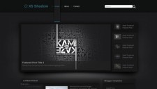 X5 Shadow Blogger Template