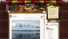 Cappuccino Blogger Template