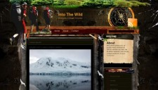 Into The Wild Blogger Template