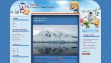 Pororo Blogger Template