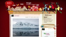 Single Blogger Template