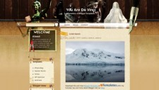 You Are Da Vinci Blogger Template