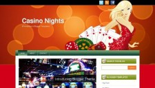 Casino Nights Blogger Template