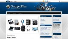 GadgetPlus Blogger Template