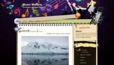 Music Matters Blogger Template