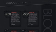 X7 Blue Black Blogger Template