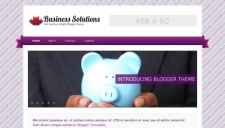 Business Solutions Purple