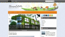 HouseEstate Blogger Template