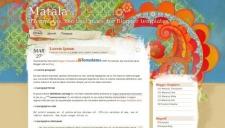Matala Blogger Template