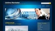 Online Marketer Blogger Template