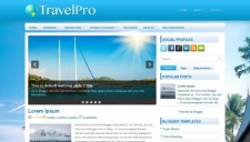 TravelPro Blogger Template