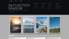 X9 Function Shadow Blogger Template