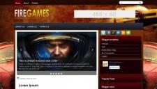 FireGames Blogger Template