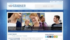 Learner Blogger Template