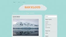 San Kloud Blogger Template
