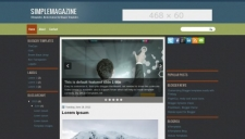SimpleMagazine Blogger Template