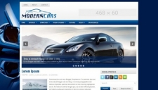 Modern Cars Blogger Template