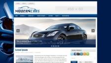 Modern Cars Blogger Template